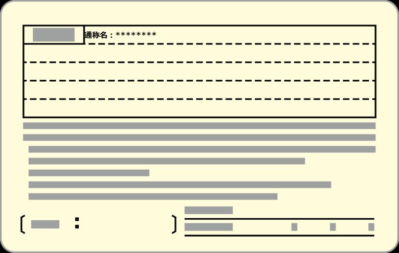 免許証の裏の通称名表記